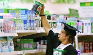 Supermarket shelf stacker