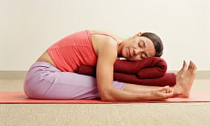 Yin Yoga Poses Are Floor Based Photograph Debra Mcclinton Getty Images