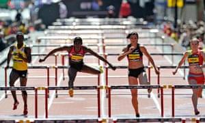 hurdles athletes