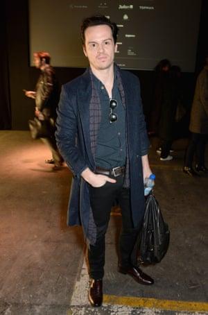 Andrew Scott attends the Topman Design show