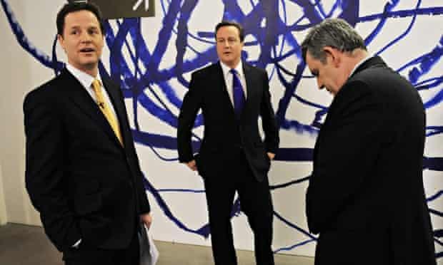 British opposition Liberal Democrat lead