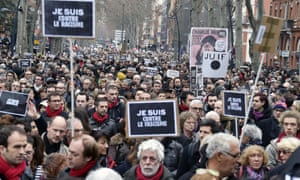 March in Toulouse.