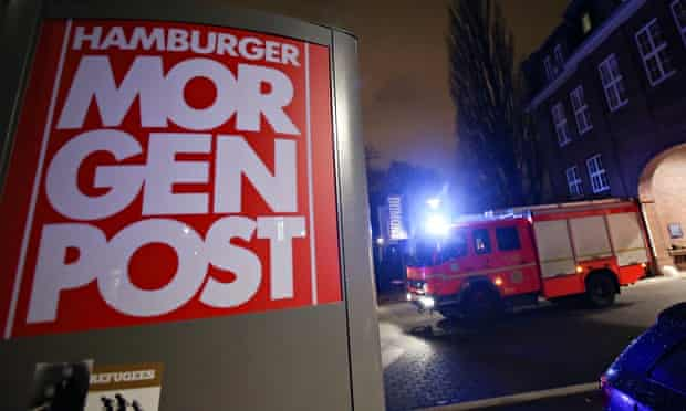 Hamburger Morgenpost offices in Hamburg