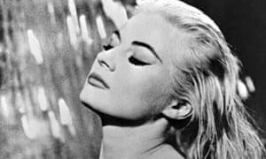 Anita Ekberg in La Dolce Vita, 1960.