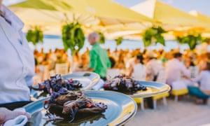Hamilton Island, Food and Wine, at Qualia.