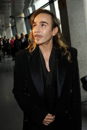 Galliano at France's industrial tribunal on February 04, 2013 in Paris.