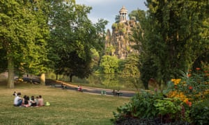 Buttes-Chaumont park,where 'the pioneers of French jihadiism' would meet.
