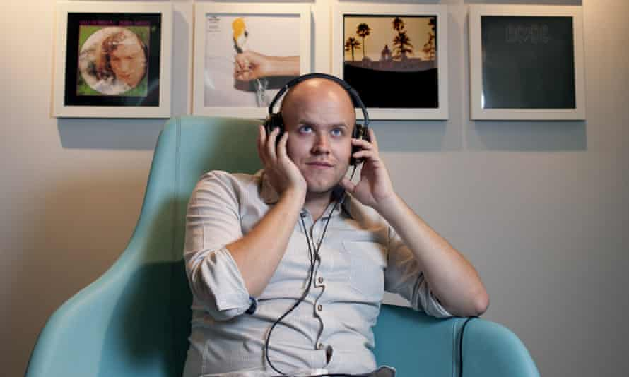 Daniel Ek's Spotify now has 60m users and 15m paying subscribers.