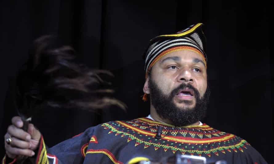 Controversial French comedian Dieudonne M'bala M'bala will be invetigated over his Facebook post.