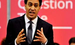 Ed Miliband in Stevenage