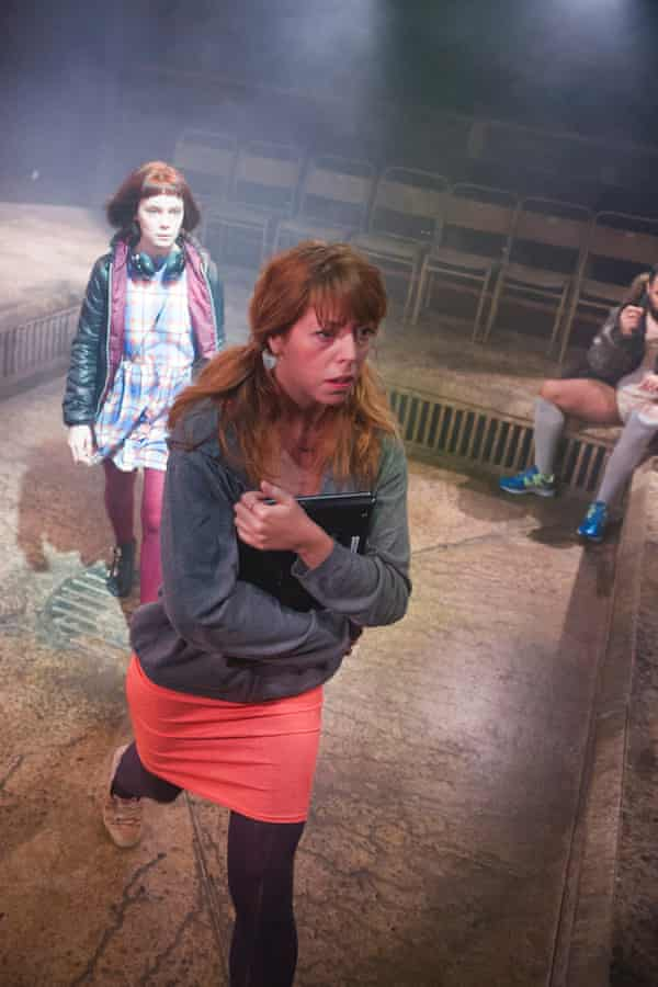 Dystopian …  Rebecca Humphries in Pomona by Alistair McDowall.