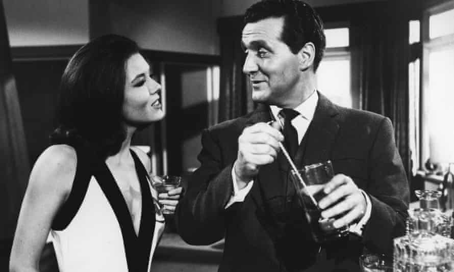 Diana Rigg and Patrick Macnee in The Avengers