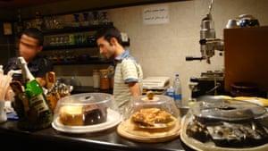 Tehran cafe