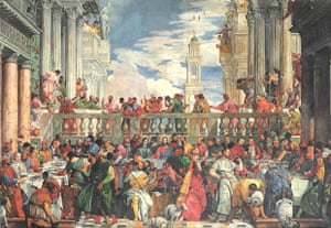The Wedding at Cana, 1563 by Paolo Veronese