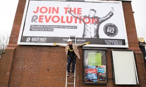 Bez is standing for the Reality Party, which promises to bring power back to the people