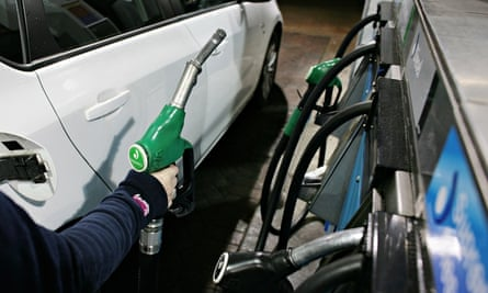 Petrol prices drop: Esso garage in Bromley, Kent