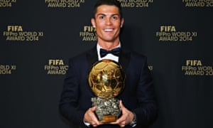 Cristiano Ronaldo wins Ballon d Or with Lionel Messi a distant second 97e8fa7a84cfa