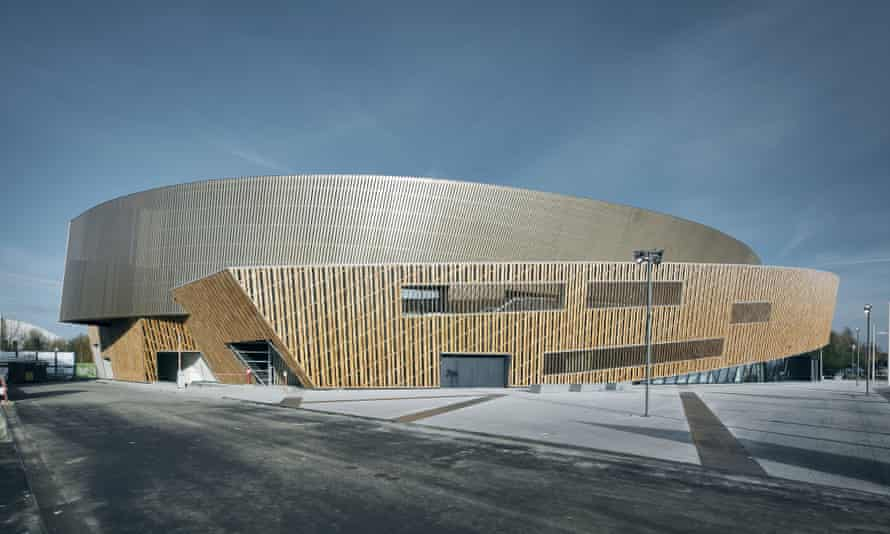 Daniel Libeskind's €30m new conference centre is one of the few projects to be completed on time.