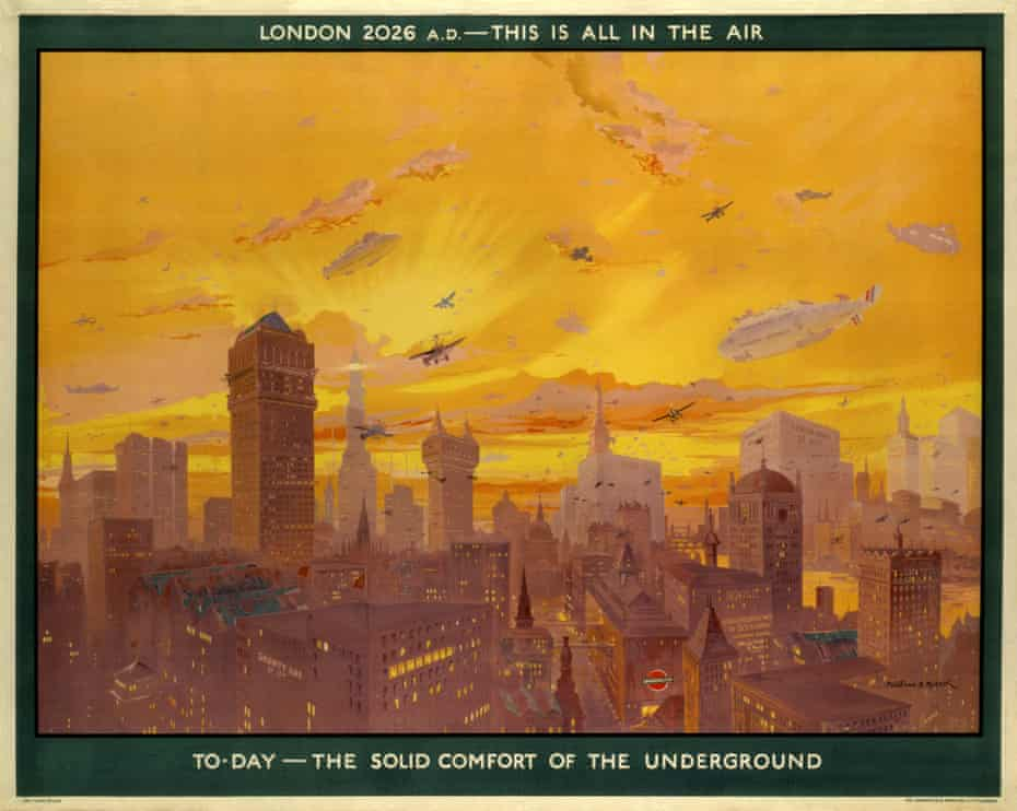 London 2026 AD: This Is All In The air, by Montague B Black, 1926.