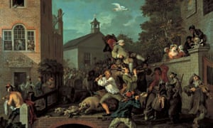 Chairing the Member, from The Humours of an Election, William Hogarth