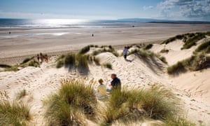 Dunes at Camber Sands, East Sussex, UK