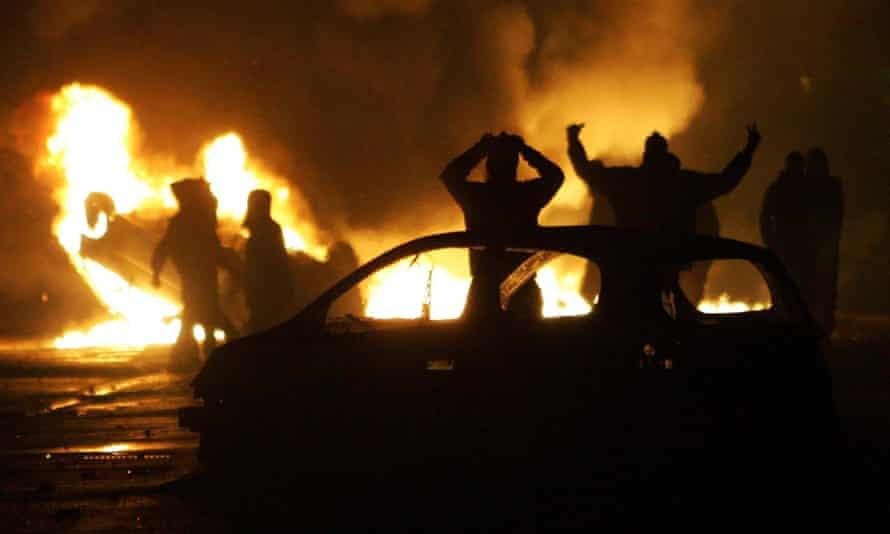 Paris banlieues riots