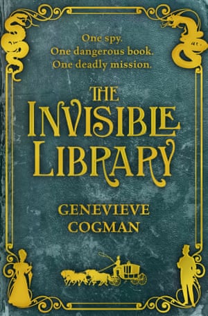 The Invisible Library by Genevieve Cogman  .jpg