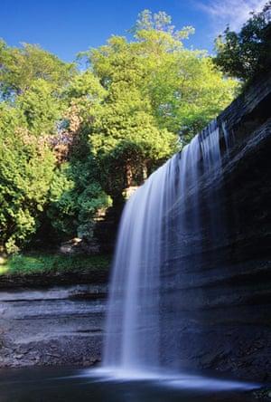 Letter from Canada: Bridal Veil Falls, Kagawong, Manitoulin Island, Ontario