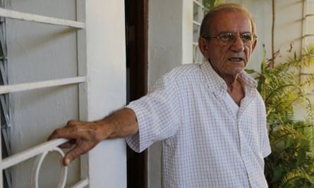 Rolando Sarraff at his home in Havana, Cuba, in December.
