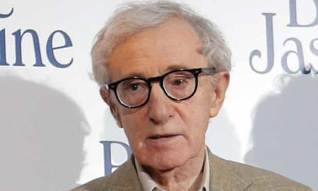 Woody Allen at the French premiere of Blue Jasmine in Paris.