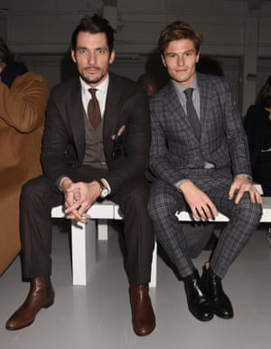...a quick change and ioff he pops to meet Oliver Cheshire at Hardy Amies
