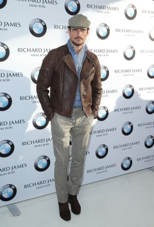 A good night's kip was all Gandy needs before zipping off to the James Long show before 2pm the next day