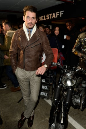 Another costume change then it's off to the Belstaff presentation at 5.10pm