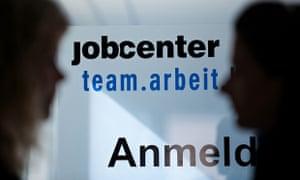 Job centre in Hamburg, Germany