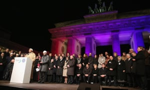 Muslim community rally, Berlin