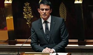 Manuel Valls French Parliament
