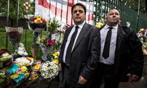 Nick Griffin (left) was expelled from the British National party last October