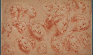 Study of Heads by Michel Corneille the Younger