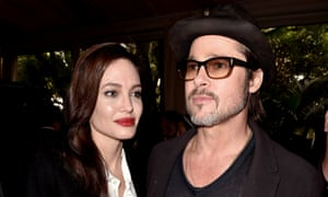 One for the money …Brad Pitt is currently shooting By the Sea with his wife, Angelina Jolie.