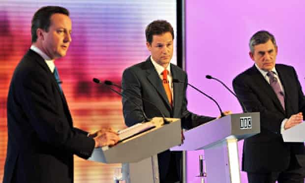 The TV debates proved popular with voters prior to the 2010 general election