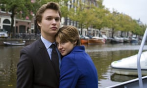 Ansel Elgort in The Fault in Our Stars.