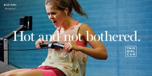 Sport England's This Girl Can billboard ad
