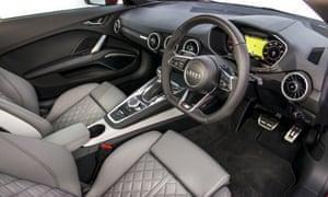 Inside story: the super plush interior of the TT.