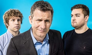 The Last Leg's Josh Widdicombe, Adam Hills and Alex Brooker
