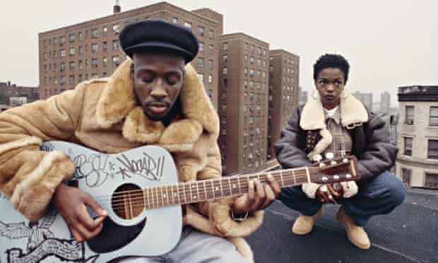 Fugees video shoot Harlem 1993 wyclef jean lauryn hill