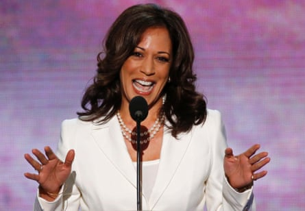 Kamala Harris The Female Obama Plots Her Course On The Road To Washington Us Politics The Guardian
