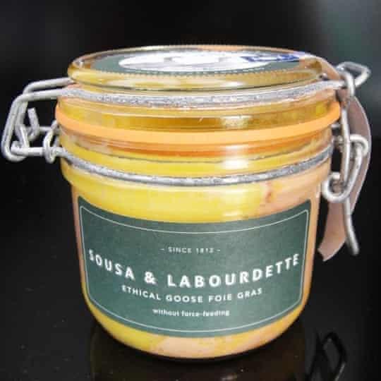 Sousa & Labourdette foie gras.