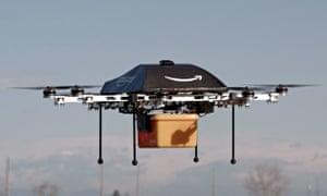 Amazon drone delivery service