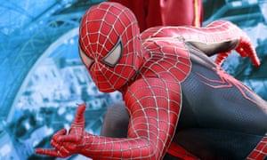 World wide web: Spiderman still has huge appeal in printed comics.