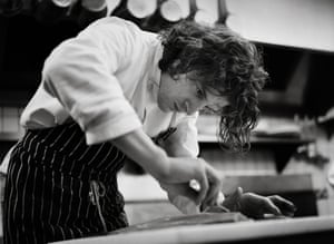 Marco Pierre White at work.